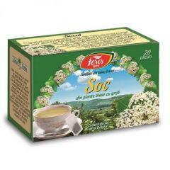 Ceai Fares soc, 20plicuri/cutie