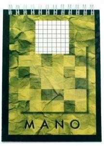 Blocnotes cu spira A6, 80file, matematica Aurora Mano
