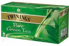 Ceai Twinings verde Pure, 25plicuri/cutie