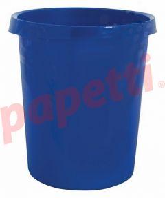 Cos plastic pentru gunoi, albastru, 18L, Han Grip
