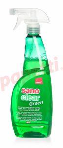 Detergent cu pulverizator ptr. geamuri, oglinzi, obiecte din ceramica, portelan, 750ml, Clear Green