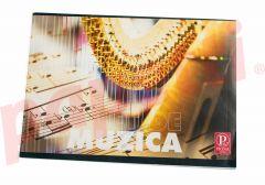 Caiet muzica, 24file, Pigna