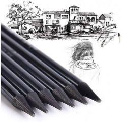 Creion grafit fara lemn, 2B, 4B, 6B, 8B, 4buc/cutie, Koh-I-Noor
