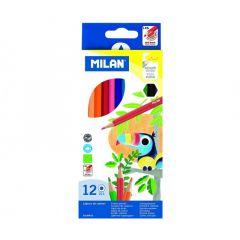 Creioane colorate 12culori/set, Milan