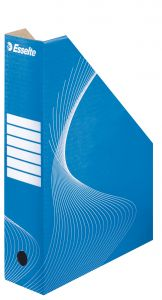 Suport vertical carton albastru Standard 80 Esselte
