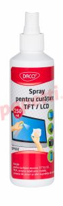 Spray pentru monitor, 250ml, Daco