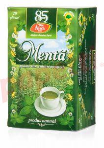 Ceai Fares menta, 20plicuri/cutie