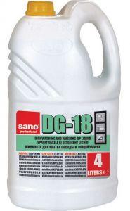 Detergent vase, concentrat, 4L, DG 18 Sano San