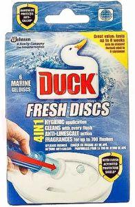 Odorizant gel pentru toaleta, marin, 36ml, Fresh Discs Duck