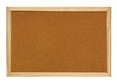 Panou pluta, rama lemn, 40cm x 60cm, Optima