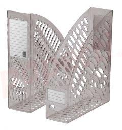 Suport vertical transparent fumuriu Ark 2050