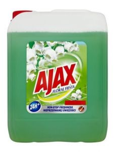 Detergent geamuri, oglinzi, 5l, Green Floral Fiesta Ajax