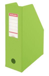 Suport vertical carton plastifiat verde Esselte