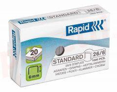 Capse nr.23/6 Rapid Standard