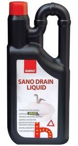 Gel pentru desfundat tevi, 1L, Drain Liquid Sano