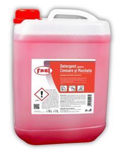 Detergent pentru toate tipurile de covoare, mochete, tapiterii, 5L, FABI