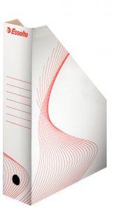 Suport vertical carton alb Standard 80 Esselte