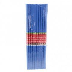 Hartie creponata, albastru inchis, 50cmx200cm, Daco