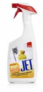 Detergent dezinfectant cu pulverizator pentru orice suprafata lavabila din baie, 750ml, Jet Bathroom