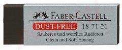 Guma cauciuc sintetic, neagra, dust free, Faber Castell-FC187171