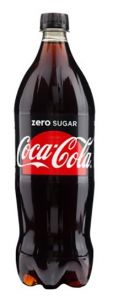 Coca-Cola Zero 1,25l, 6buc/bax
