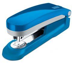 Capsator metal/plastic, albastru/gri, 24/6 si 26/6 E 25 Fresh Novus