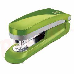 Capsator metal/plastic, verde deschis/gri, 24/6 si 26/6 E 25 Fresh Novus