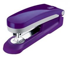 Capsator metal/plastic, violet/gri, 24/6 si 26/6 E 25 Fresh Novus
