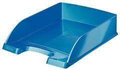 Tavita suprapozabila, albastru metalizat, Wow Leitz