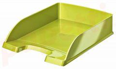 Tavita suprapozabila, verde metalizat, Wow Leitz