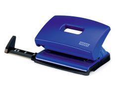 Perforator metal/plastic albastru 16 coli C216 Novus