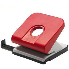 Perforator metal/plastic rosu/gri 20/25 coli Master Novus