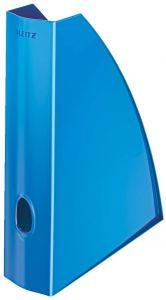 Suport vertical albastru metalizat Wow Leitz