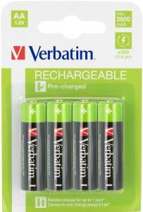 Acumulator reincarcabil, 1,2V, 2500mAh, AA, R6, 4buc/set, 49941 Verbatim