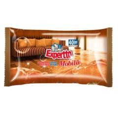 Servetele umede pt. curatare mobila, 40buc/pachet Expertto