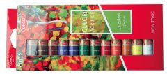 Culori acril, tub 12ml, 12culori/set, Daco