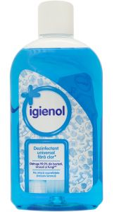 Dezinfectant fara clor pt. suprafete si obiecte, 1L, Igienol Blue Fresh