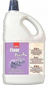 Detergent concentrat, pentru orice tip de pardoseli, 1L, Floor Fresh Liliac Sano