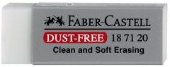 Guma cauciuc sintetic, alba, dust free, Faber Castell-FC187120