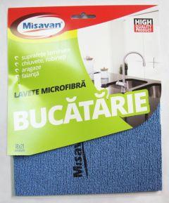Laveta microfibra extra rezistenta pt. bucatarie, 18x21cm, MSV