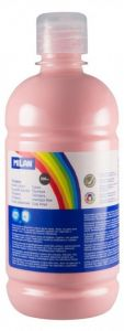 Tempera pe culoare, tub 500ml, roz deschis, Milan