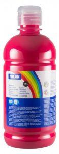 Tempera pe culoare, tub 500ml, roz magenta, Milan