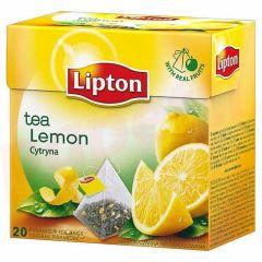 Ceai infuzie de lamaie, 20plicuri/cutie, Lipton Pyramid