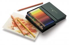 Creioane colorate 36culori/set, Studio Polychromos Faber Castell-FC110038