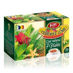 Ceai Fares 7 plante, 20plicuri/cutie