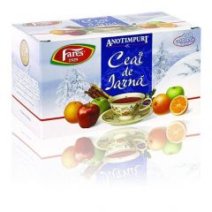 Ceai Fares Anotimpuri Iarna, 20plicuri/cutie