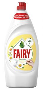 Detergent vase, parfum Chamomile&Vitamin E, 800ml, Sensitive Fairy