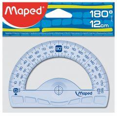 Raportor unghi 180 grade, 12cm, Maped