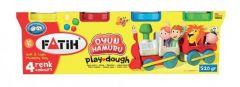 Plastilina usoara, 4 culori normale, Modeling Dough Fatih