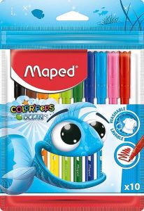 Carioca 10 culori/set Color Peps Ocean Maped